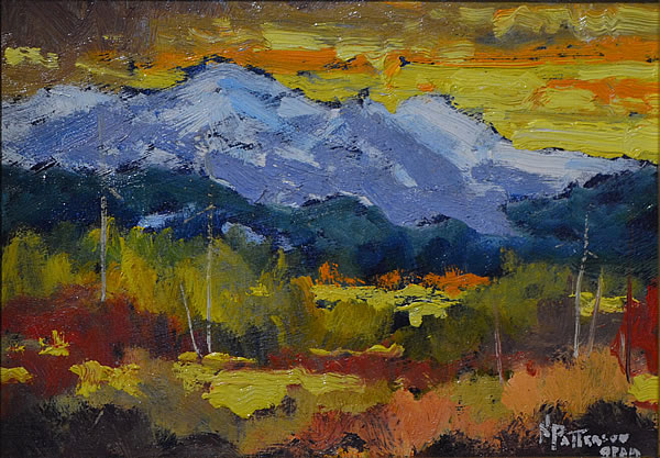Neil Patterson - View To The West - 5x7 oil