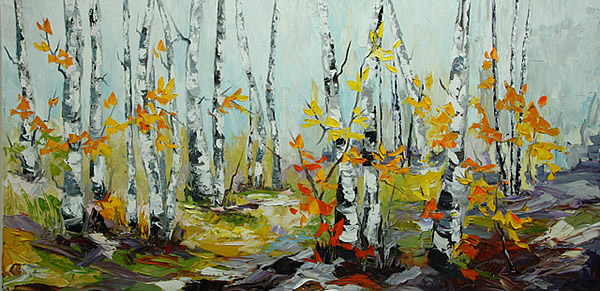 Rachelle Brady - Fall Is Upon Us - 30x60