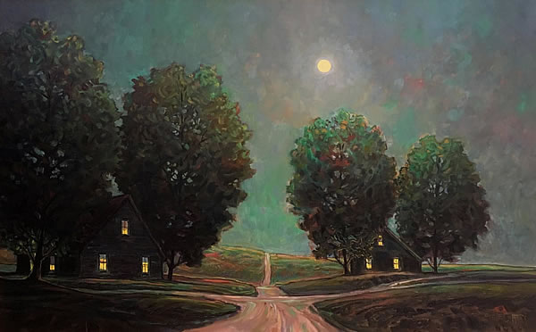 Steve Coffey - Welcome - 30x48in oil on canvas